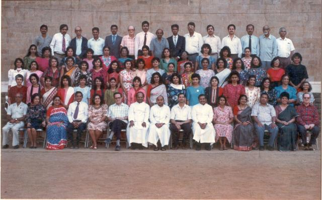 Teaching Staff 1992-93