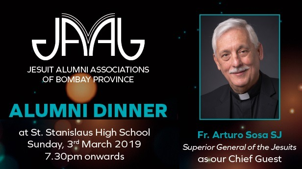 JAAB Alumni Dinner with Fr. Arturo Sosa SJ | Superior General of the Society of Jesus